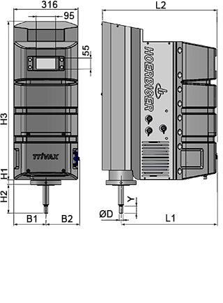 TriVAX Intelligent electrohydraulic valve actuator HOERBIGER - Smart